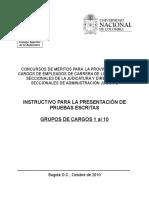 Instructivo Empleados - Grupos 1 Al 10