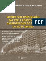 Roteiro_uerj_teses e Dissertações 2007