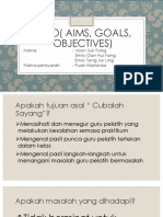 Ago( Aims, Goals, Objectives)