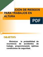 SEGURIDAD INDUSTRIAL TRABAJOS EN ALTURA.ppt