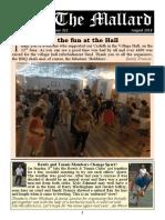 """THE MALLARD"" August 2018"