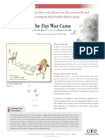 The Day War Came Discussion Guide