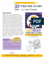 Judy Moody and the Right Royal Tea Party Teachers Guide