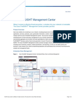 Datasheet-Cisco FireSIGHT Management Center
