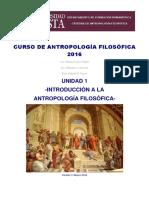 Curso de antropología filosófica - U1