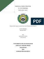 Proposal Kpi Pt. Pln Persero Kota Bau-bau