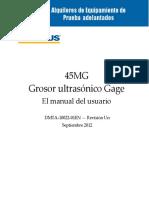 Olympus 45MG Manual en Es