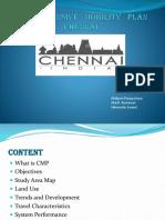 Comprehensive Mobility Plan Chennai