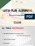 Slides PDF - Scrumble En