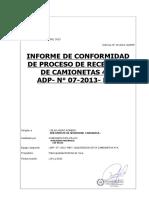 PROCESO DE REPARACIÓN DE CAMIONETA