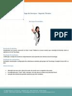 Catálogo de Serviços - Suporte Técnico