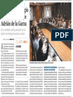 28-07-18 Ayuntamiento regio alista el regreso de Adrián de la Garza