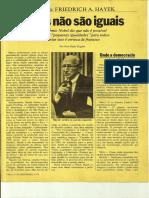 Entrevista Hayek, Veja 1979