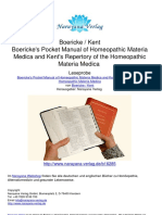 Boericke _ Kent Boericke's Pocket Manual of Homeopathic Materia Medica and Kent's Repertory of the Homeopathic Materia Medica