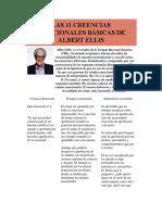 LAS 11 CREENCIAS IRRACIONALES BÁSICAS DE ALBERT ELLIS.docx