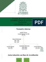 Proceso de Autoevaluación Vicerrectoría de Docencia