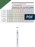 Saldo de Aulas - Linguagens e Códigos - Página1