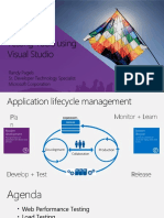 Visual Studio Testing Tools - V4