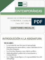 Éticas Contemporáneas. Cuestiones Iniciales 2017-18