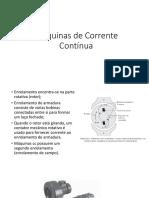 Máquinas de Corrente Contínua2