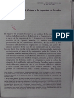Kowalska, Inmigración Polaca a La Argentina