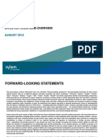 08-2015 XYL Investor Overview
