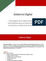 Propuesta Gobierno Digital