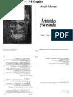 02094018 Moreau Aristóteles y Su Escuela (Caps 1 Al 4)