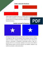 Partidos Politicos de Honduras1