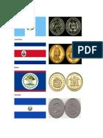 Banderas y Monedas de Guatemala