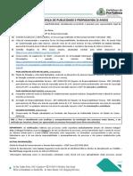 Licenciamento de Engenhos de Propaganda e Publicidade - Licenca Com Validade de 03 Tres Anos Placas Paineis Letreiros Toten e Outros(1)