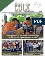Noticias Cholula del 30 de julio de 2018