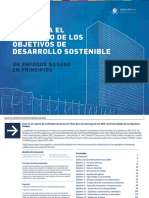 Guía Empresarial de ODS - Pacto Mundial