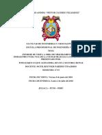 Informe de Diseño de Pavimentos