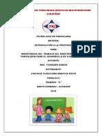 Listado de Documentos Normativos Establesidos Por La Instancia Superior Para El Que Hacer Educativo 2