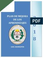 Plan Mejora de Los Aprendizajes 2018yyyy