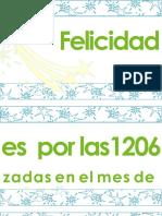 Pancarta Felicitacion Por Record