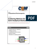Lecture 5a -- Scattering Matrices