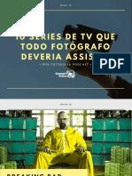 10 Series de TV Que Todo Fotografo Deveria Assisti