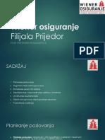 Wiener Osiguranje - Plan i Program Rukovođenja Filijalom