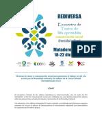 Programa Encuentro Rediversa