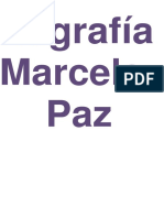 Biografia Marcela Paz