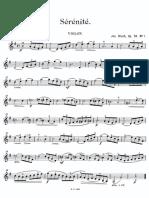 Bloch Aquarelle Op.52 Vn