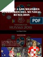 Luis Miguel Urbina - Conoce a Los Mejores Jugadores Del Mundial Rusia 2018