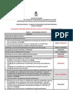 Cronograma Para o Site Atualizado Conf Retifica o 01 e Edital de Prorroga o Das Inscri Es