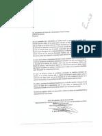 Oficio de renuncia Jesús Martínez Navarro