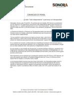 """27/07/18 Brindará DIF Sonora taller """"Vida Independiente"""" a personas con discapacidad."""