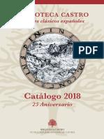 Biblioteca Castro Catálogo 2018