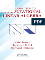 Erhel, Jocelyne_ Nassif, Nabil_ Philippe, Bernard - Introduction to Computational Linear Algebra (2016, Chapman & Hall_CRC)