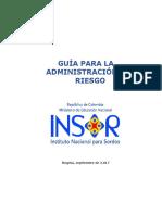 Guia Administracion Del Riesgo V2 INSOR